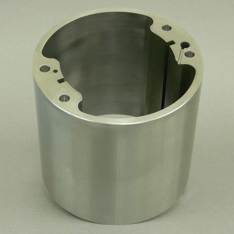 CNC machined component for military vehicle