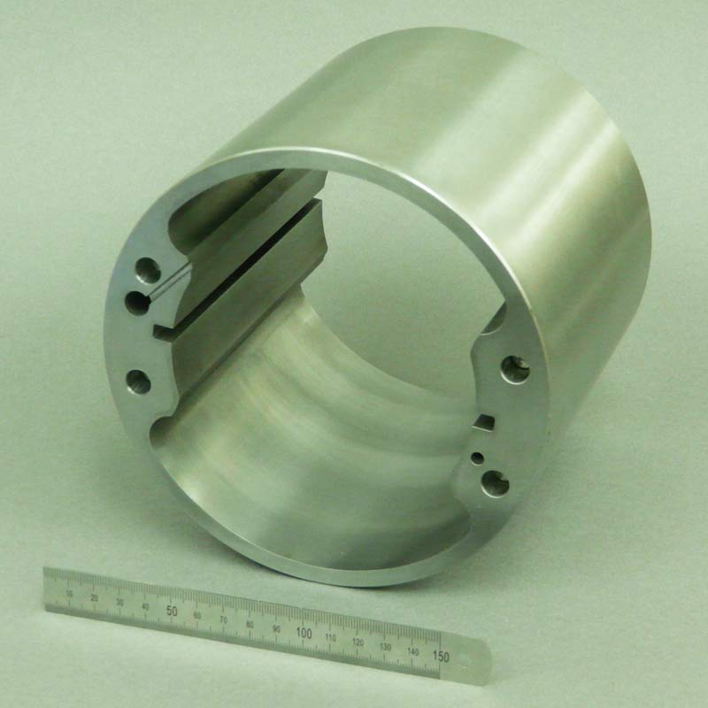 CNC machined component for vehicle
