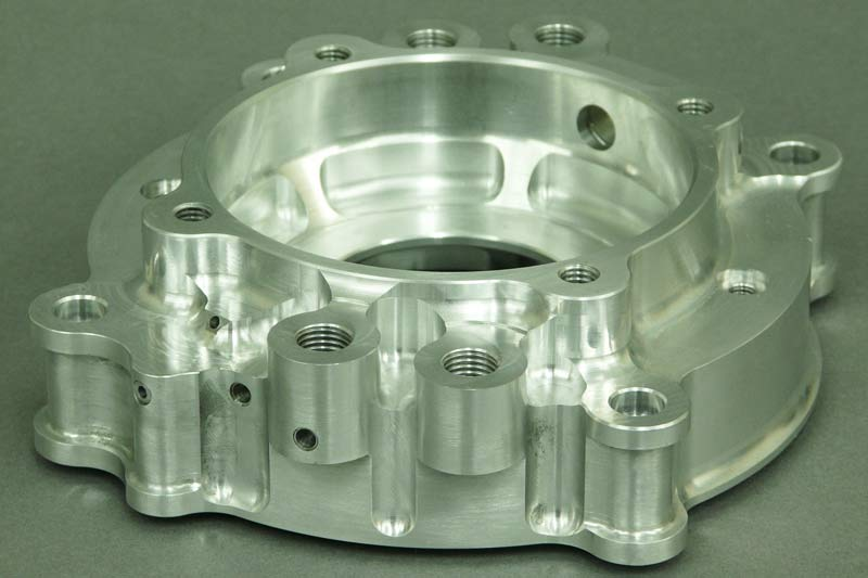 CNC milling component for motorsport