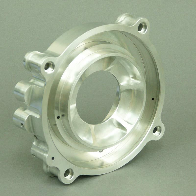 CNC millied metal component for motorsport