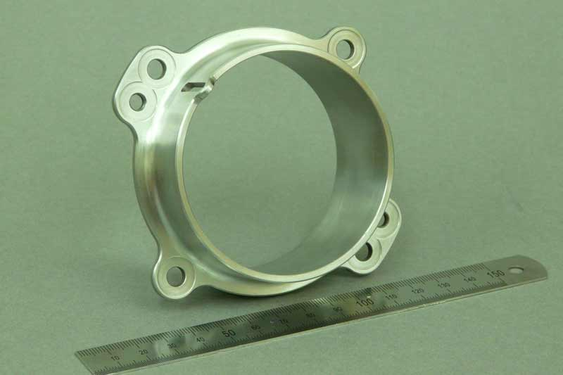 CNC machining - machined milled metal component part